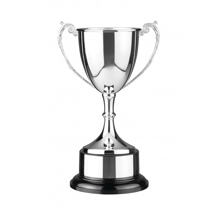 SILVER PLATED TRADITIONAL TROPHY CUP - 5 SIZES